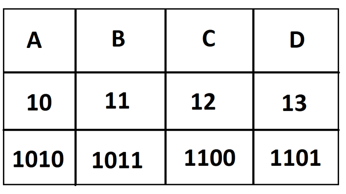 Hex to Dotted Decimal to Binary conversion explained, and